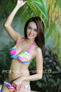 Devi Iriyanti for Popular World BFN, June 2012