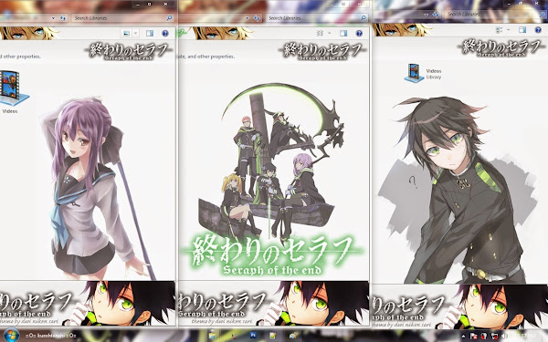/ Theme Windows 7 / Owari no Seraph 3