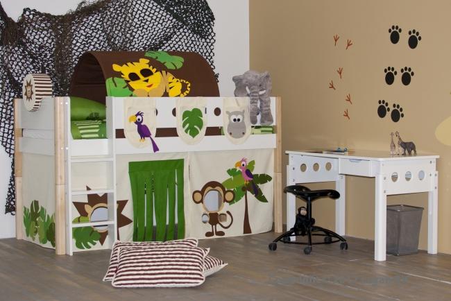 kinder thema slaapkamers ~ home design ideeën en meubilair inspiraties, Deco ideeën