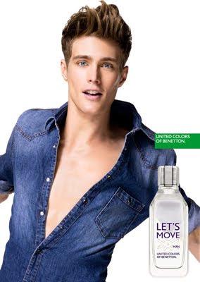 Benetton perfume para hombre Lets Move