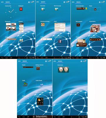 SKK Mobile Phoenix Tab 4 Default Widgets