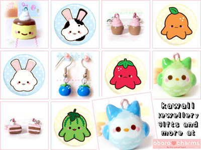 Kawaii jewellery and accessories at Oborocharms