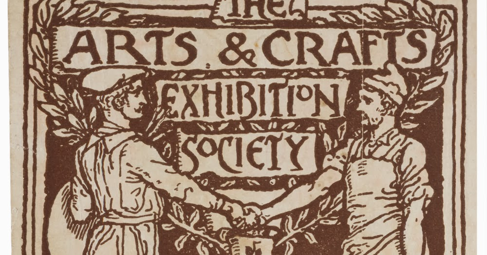 Graphic design history graphic design in arts and craft for Arts and crafts movement graphic design