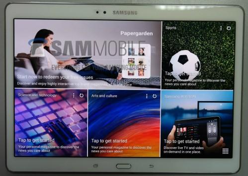 Display Amoled da 10,5 pollici e risoluzione 2560 x 1600 pixel per Tab S di Samsung