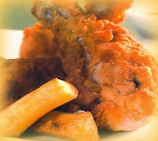 Chicharrón de pollo Kontiki