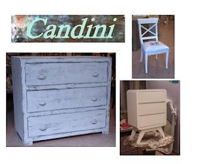 Candini muebles pintados nuevos y redecorados mueble for Muebles restaurados en blanco