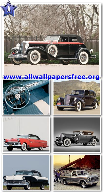 80 Amazing American Classic Cars Wallpapers 1280 X 1024 [Set 10]