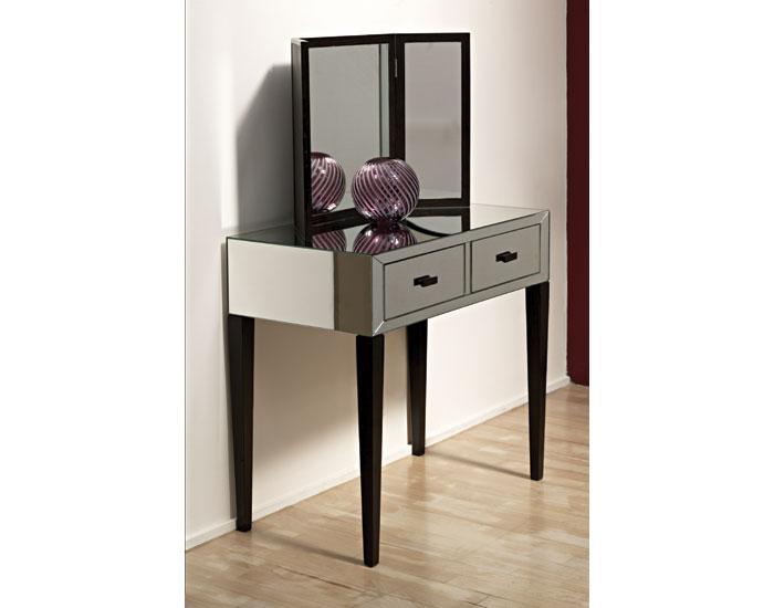 mirrored bedroom vanity italian design