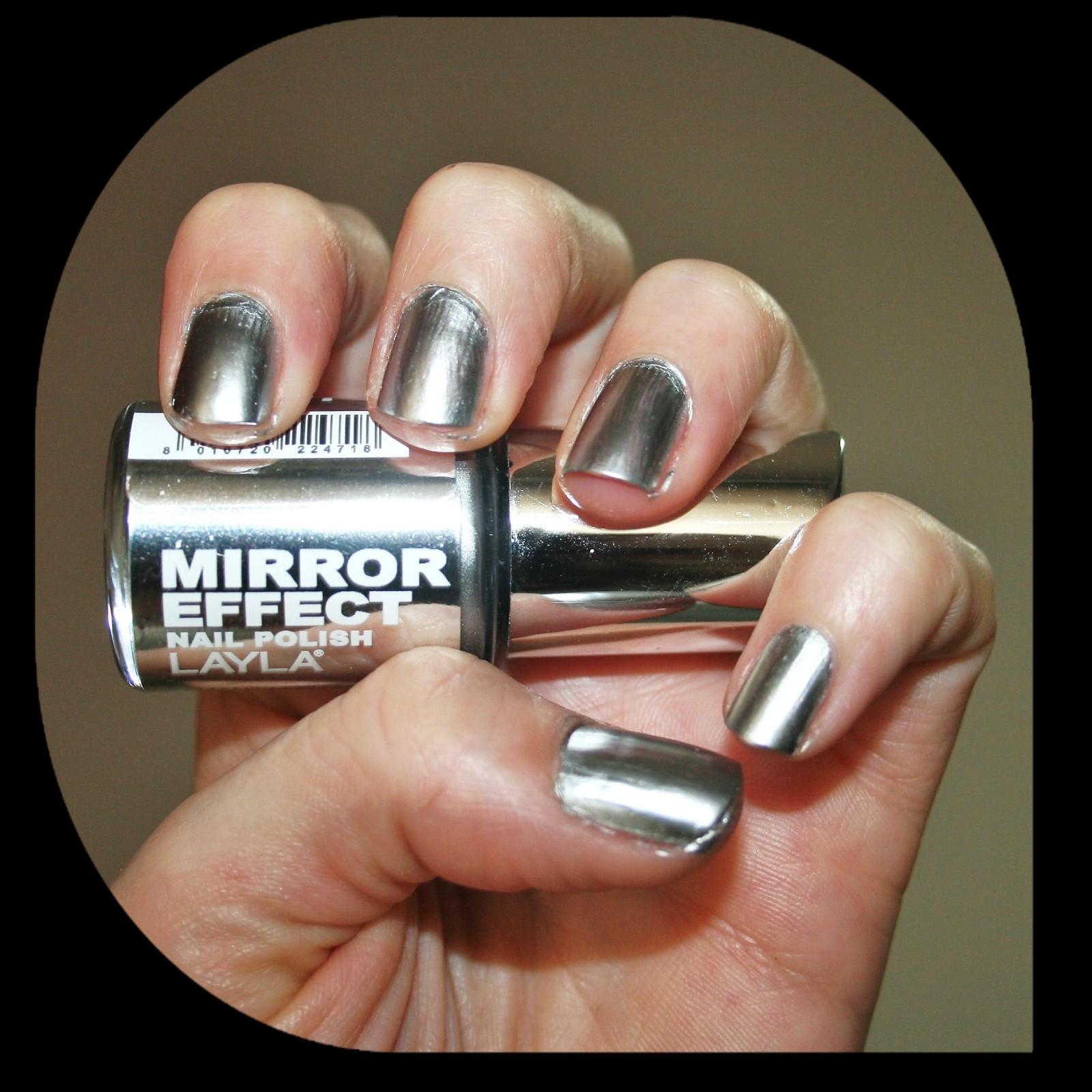Because i love life mirror mirror on the wall no wait for Mirror nail polish