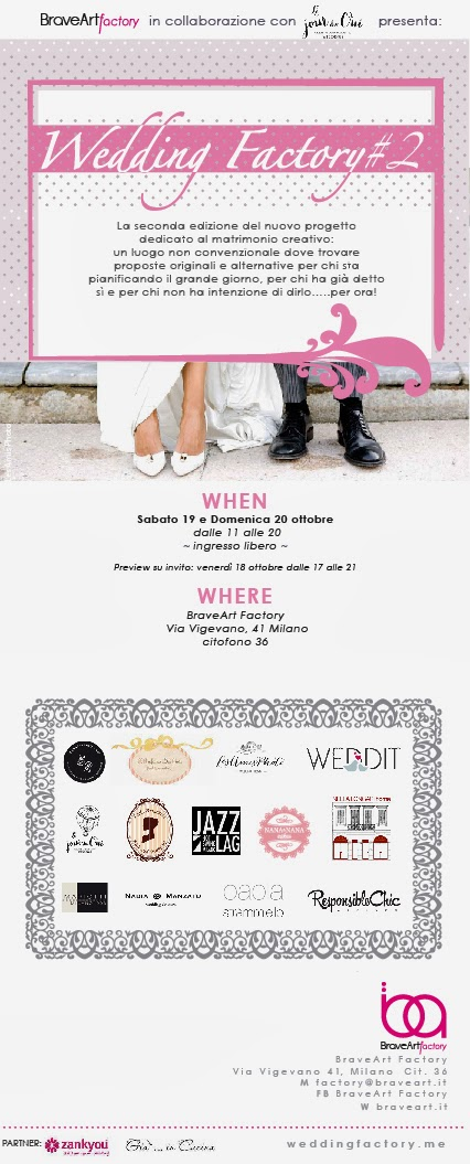 Evento realizzato in collaborazione con Le jour du oui e BraveArt Factory, Nadia Manzato