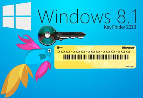 windows 8.1 key finder free
