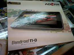 spesifikasi tablet advan t1d