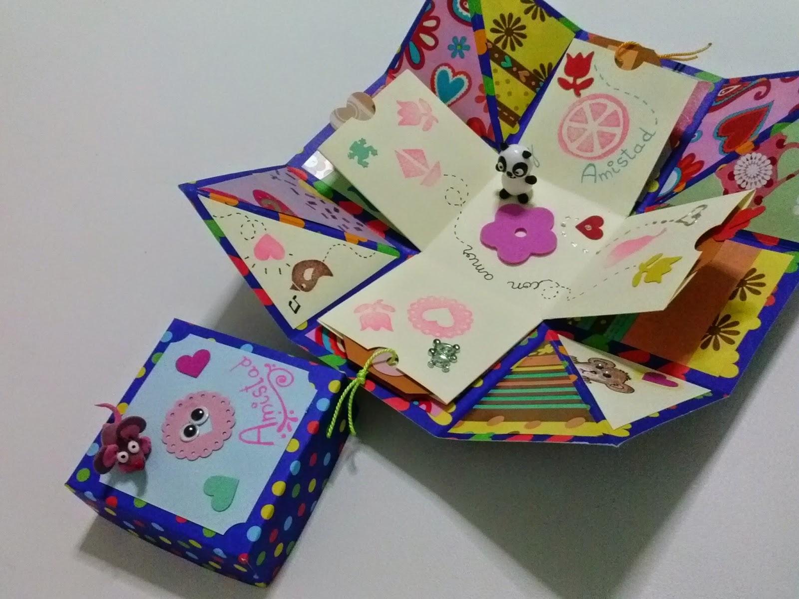 Humordesese caja sorpresa for Cajas para manualidades
