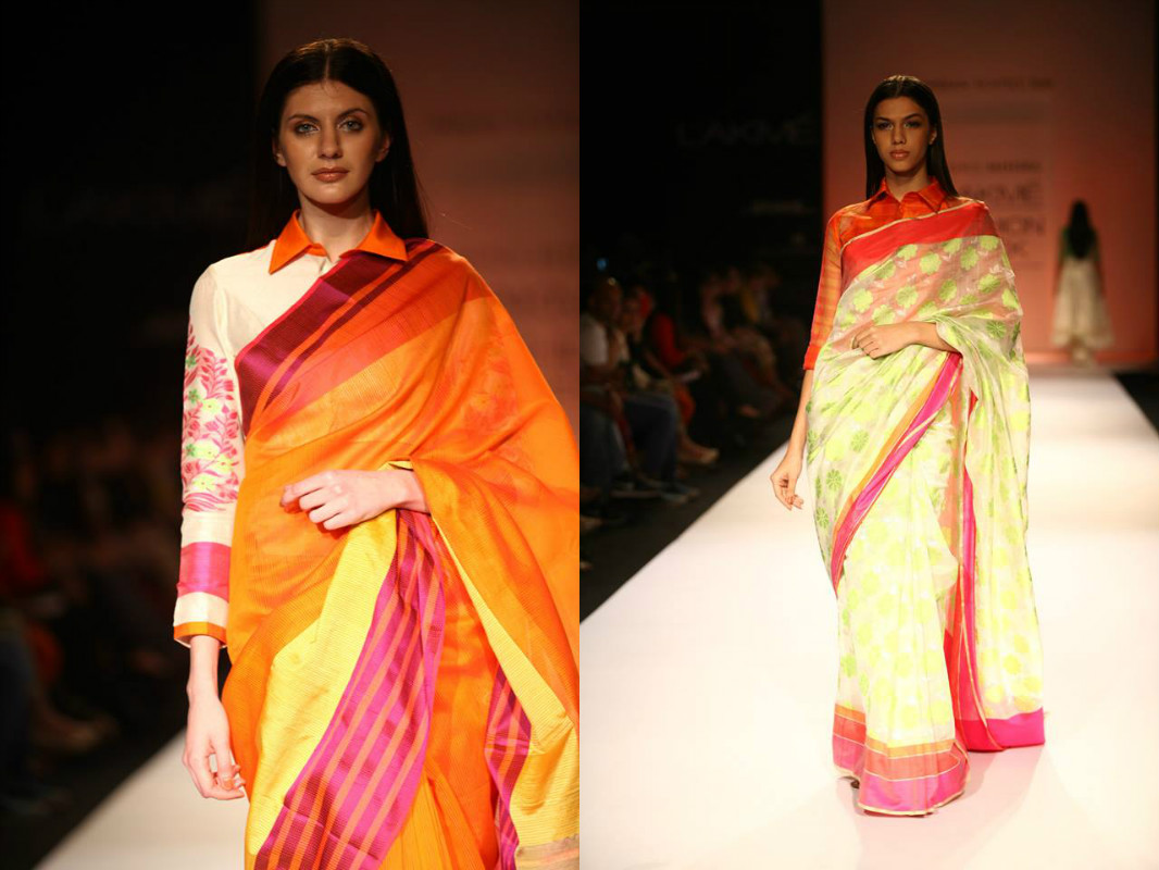 Stand Out Designs Shirts : Saree blouse designs latest quirky