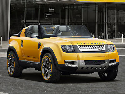 Sport car garage land rover dc100 sport concept 2017 for Garage land rover brest