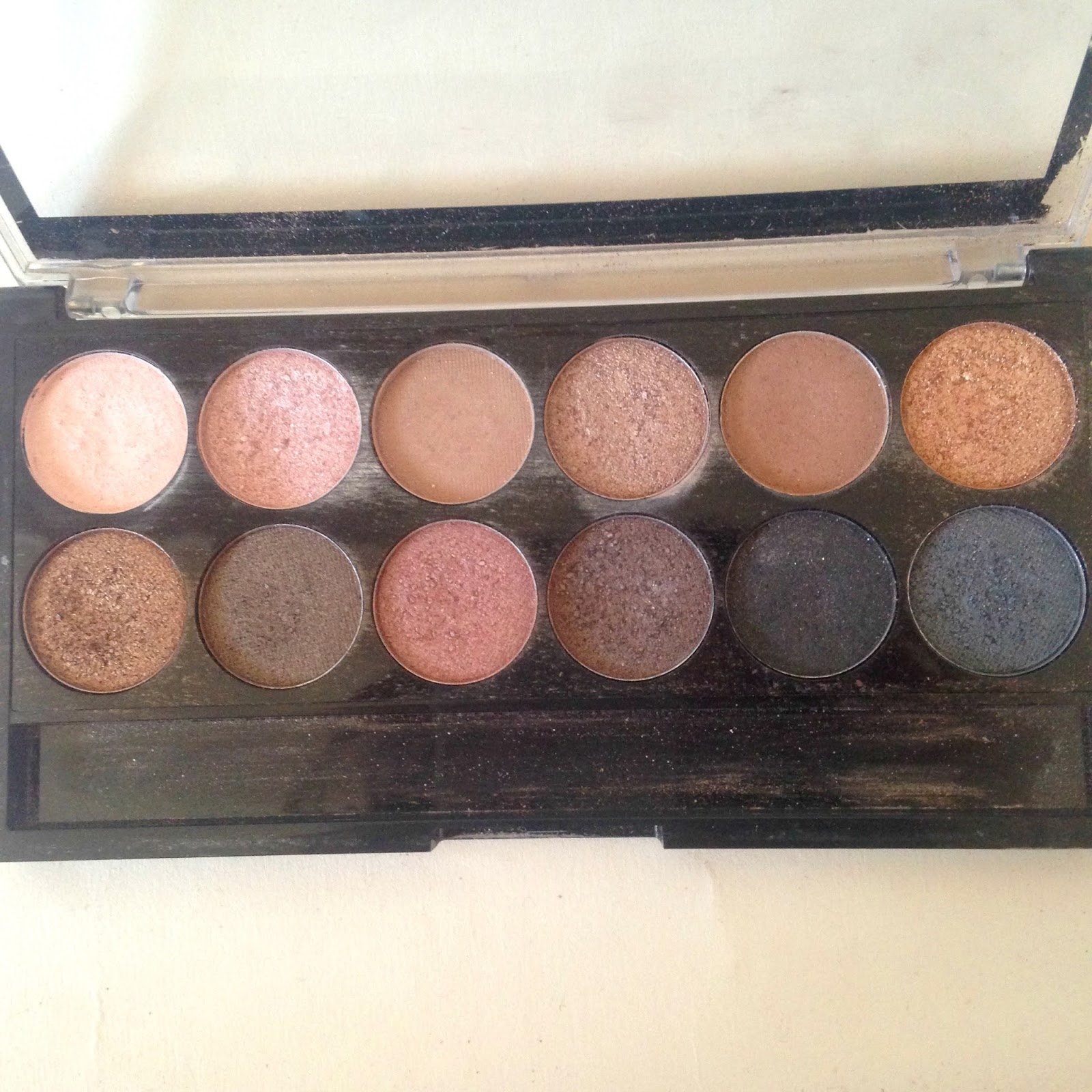 Make Up Academy Undressed Palette