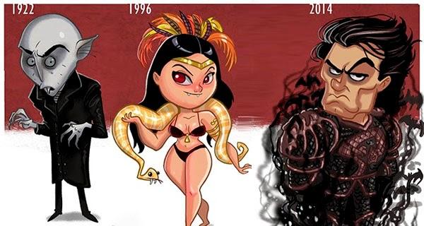 La evolución del vampiro en el cine segun Jeff Victor