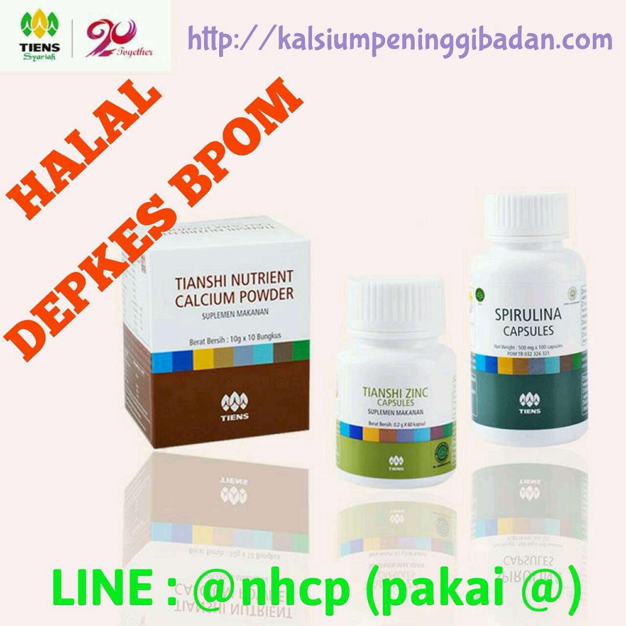 Paket Peninggi Badan Tiens NHCP