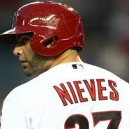 The Phillies signed catcher Wil Nieves for the 2014 season.