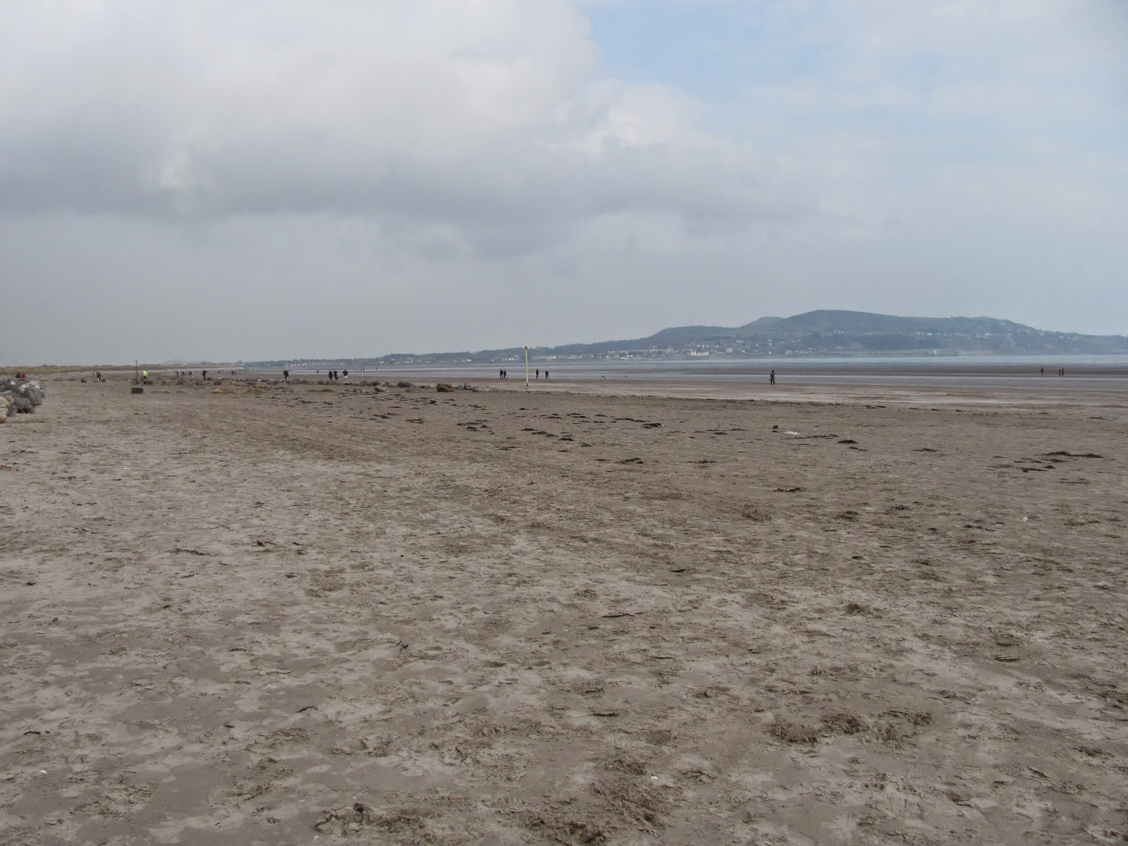 Dollymount Strand on North Bull Island
