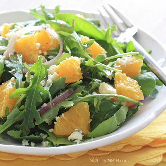 A perfect light salad for lunch.