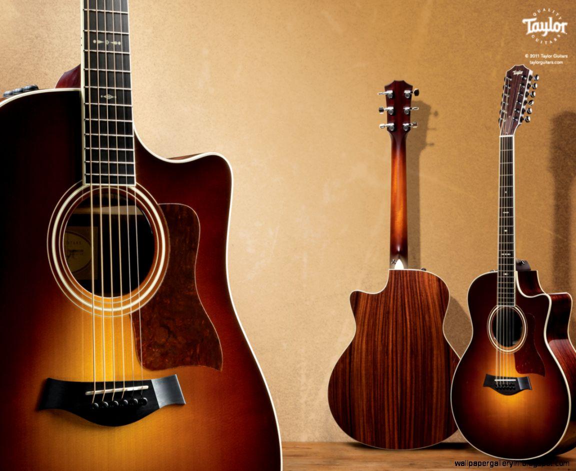 Taylor Acoustic Guitar Music Hd Wallpaper | Wallpaper Gallery