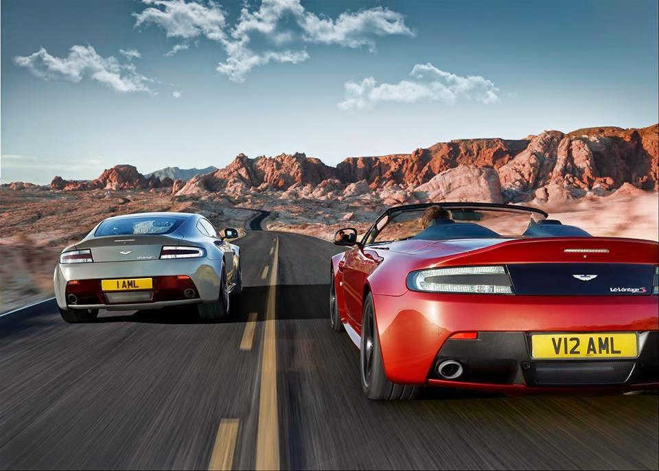 Fast Aston Martin Car