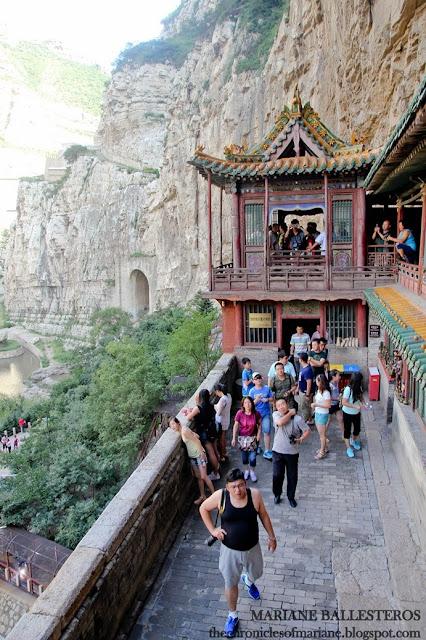 Hanging Monastery blog
