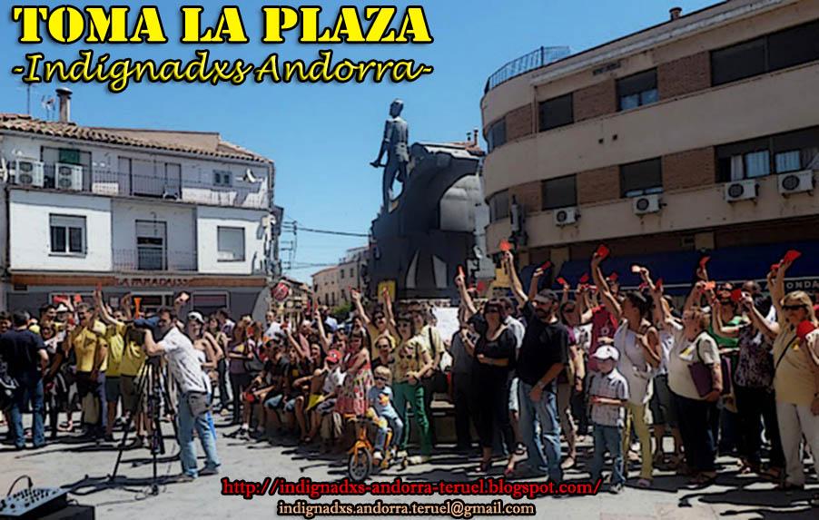 TOMA LA PLAZA - Indignadxs Andorra