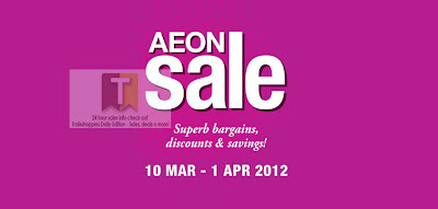 AEON Sale END 1 APRIL 2012