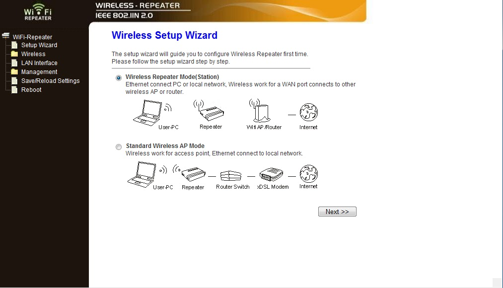 wireless n wifi repeater instructions
