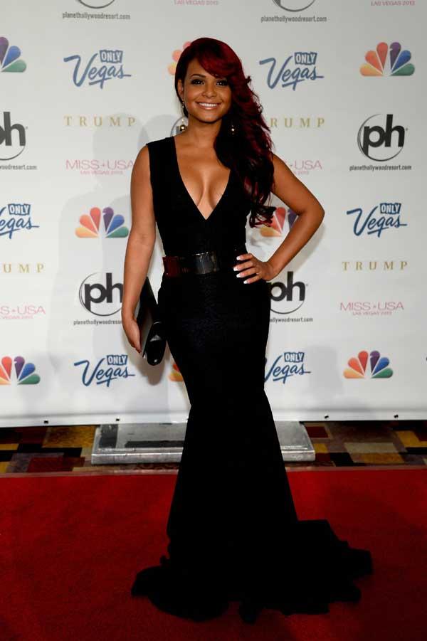 2013 Miss Usa Pageant Celebs Christina Milian Fashion