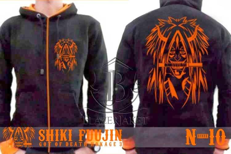 Jaket Anime Naruto - Dewa Kematian - Shiki Fuujin blazerjaket