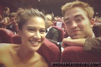 Foto Dian Sastro dan Robbert Pattinson | Hot Festival Film Cannes 2012 Prancis