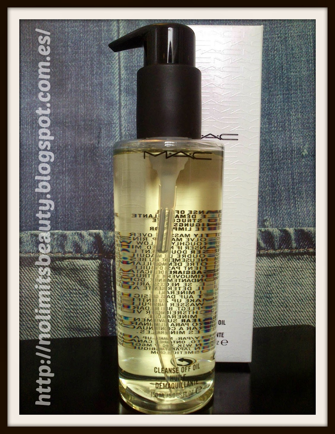 MAC: Cleanse Off Oil (review)