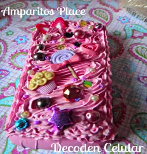 Ideas para decorar la funda de tu celular kawaii decoden - Decorar funda movil ...