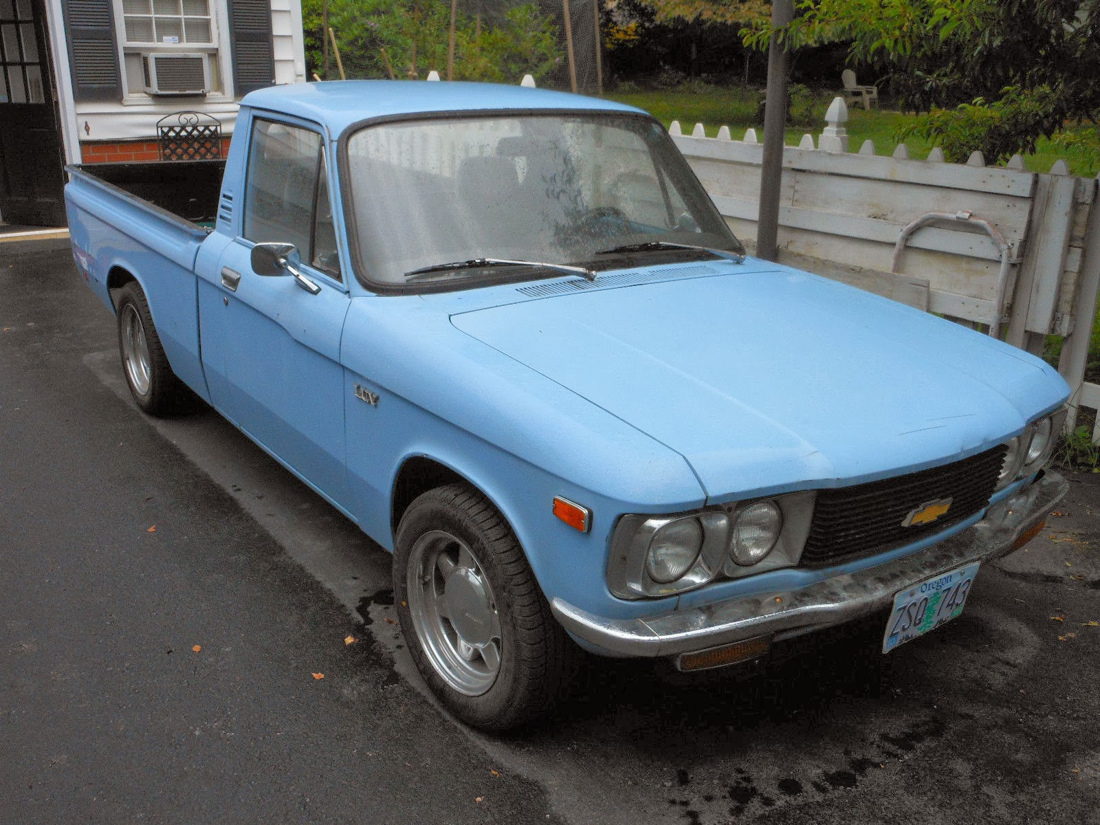 1972 Chevy Luv Clematis Blue 3000 Groosh S Garage