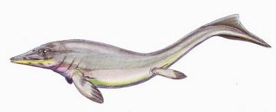 reptiles marinos prehistoricos Grippia