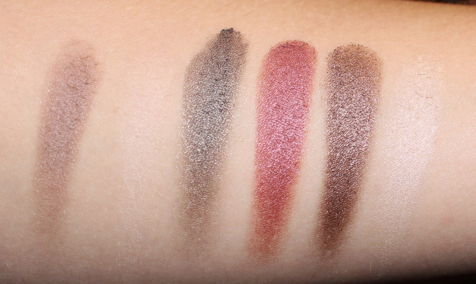 pürminerals Jupiter Ascending Collection Swatches