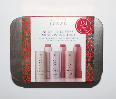 Fresh's Nude Lip Lovers Mini Kissing Trio