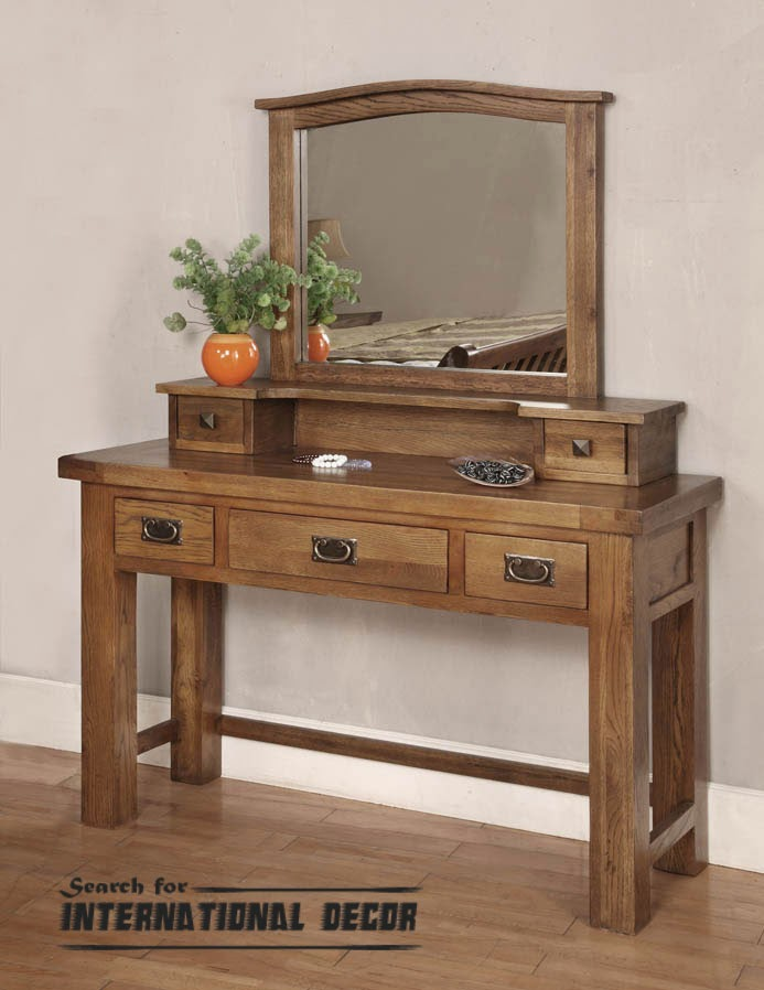 Dressing table in the bedroom interior mandatory for Dressing table design 2014
