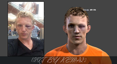 Dirk Kuyt Face by Kemal