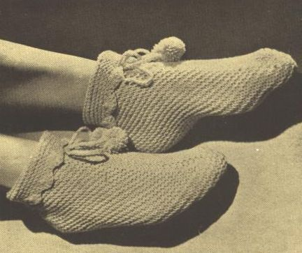 Bed Socks Crochet Pattern Image collections - knitting patterns free ...