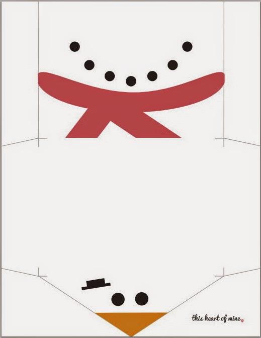 Imprimolandia: Sobres de Navidad para imprimir