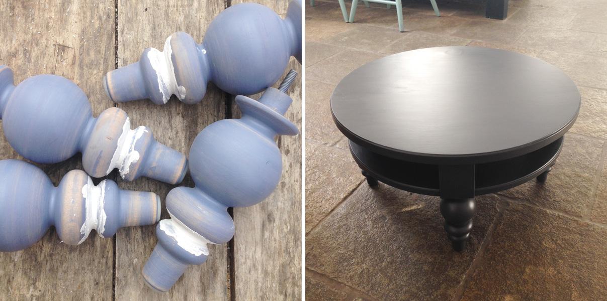 Restyling di un tavolino ikea   shabby chic interiors