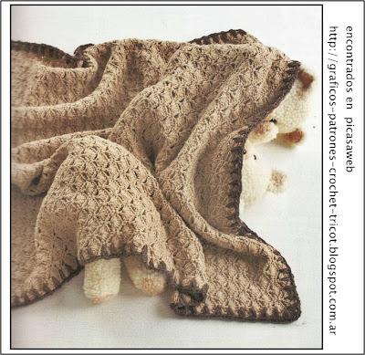 Woven Look Crochet Afghan Pattern   Crochet Patterns