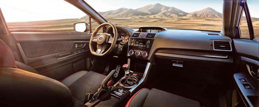 2015 Subaru WRX STI interior