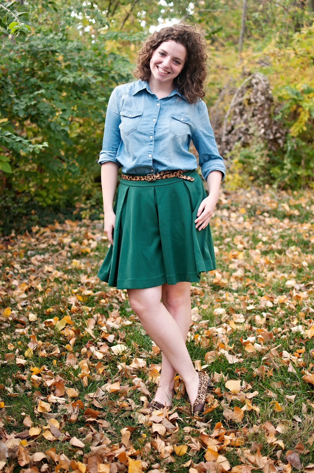 Chambray and Green