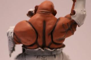 Warhammer primera iluminación de la pintura de la piel de ogro