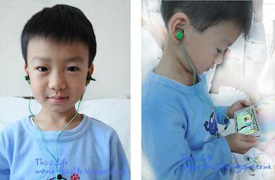 Crayola crayons, Griffin children headphones, volume limited children earbuds phones